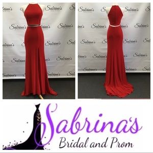 Sherri Hill - Style 50784 - Size 6 - Red